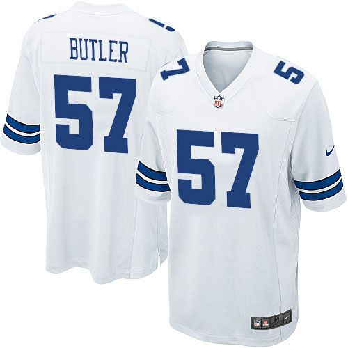 youth nike dallas cowboys 57 victor butler limited white nfl jersey sale