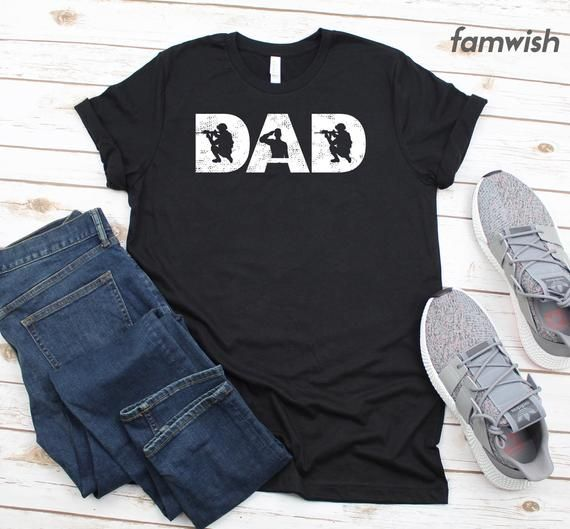 Military Dad T-Shirt, Fathers Day Gift, Military Shirt, Deployment Gift, Husband Shirt, Daddy Shirt, Daughter To Dad Gift, Veteran Gift #papashirts