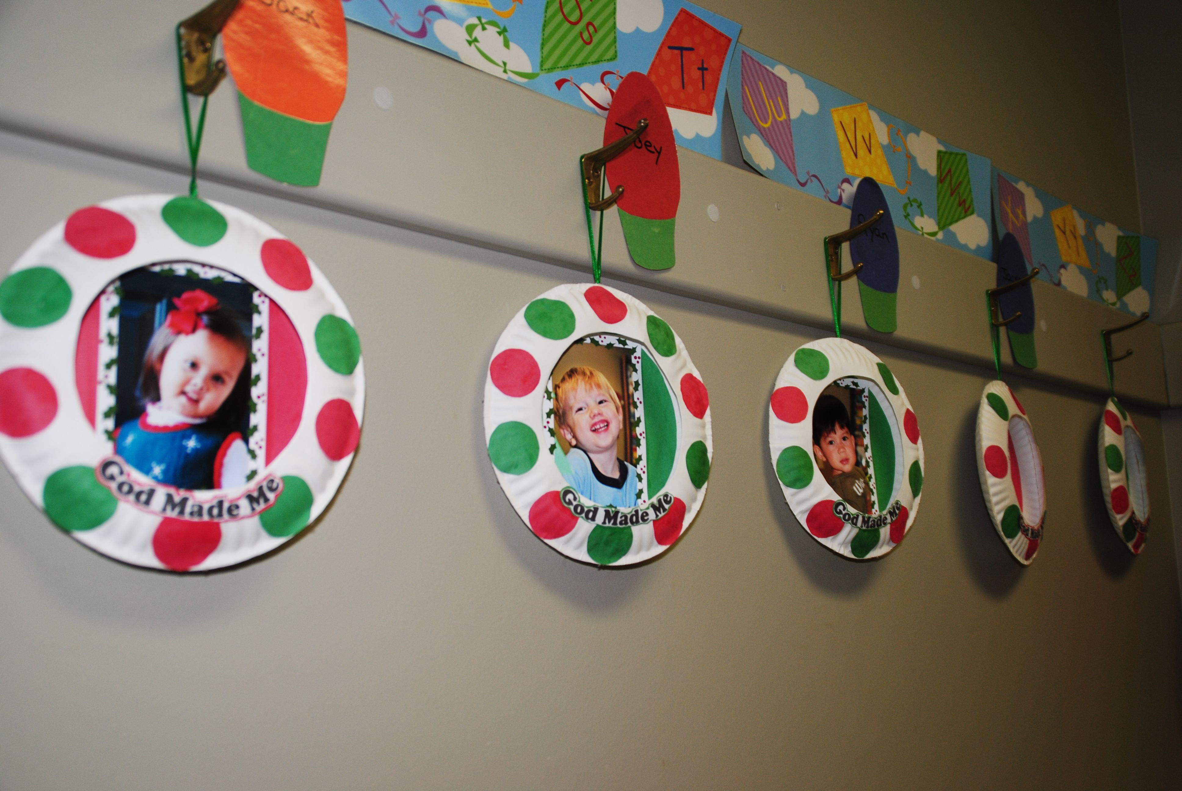 Paper Plate Picture Frame Ornaments Arts & Crafts