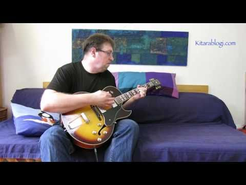 Archtop Monday Blues - YouTube