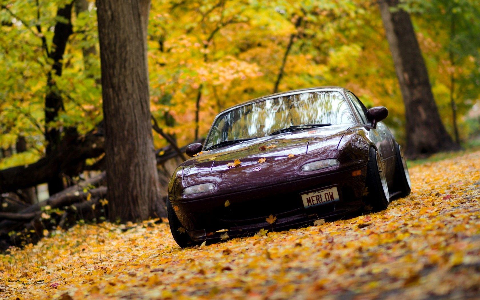 Mazda Miata Wallpaper Wallpapers Mazda Miata Car Fall