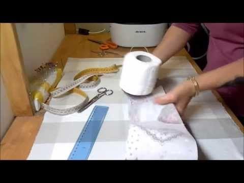 Tutorial porta rotoli di carta igienica youtube video - Albero porta carta igienica ...