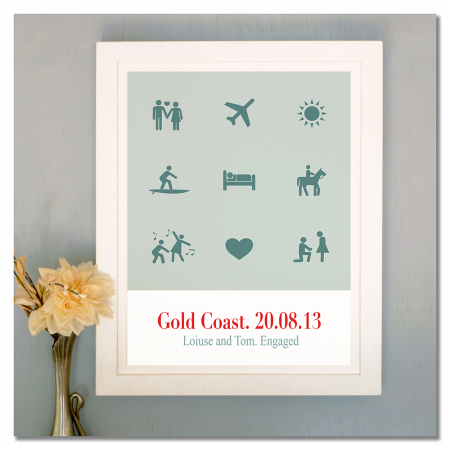 Our brilliant story personalised print - hardtofind.
