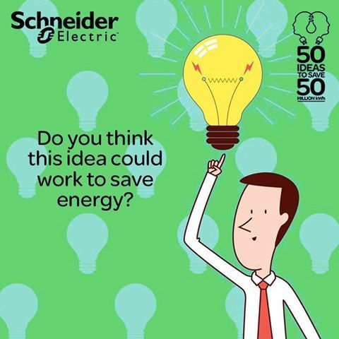 Vivek, a service professional from Mumbai, suggests that electric heaters should be replaced or retrofitted with gas fired water heater. Do you think this idea could work to save energy? Read more such ideas here http://50for50.schneider-electric.com/in/seiblog/an-idea-can-save-some-watts/