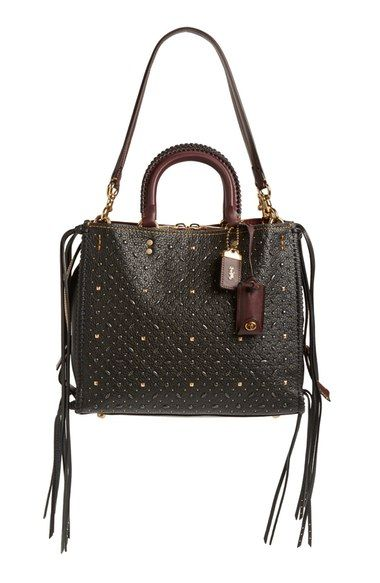2b024d79b8 COACH 1941 'Rogue' Leather Satchel available at #Nordstrom | Stuff ...