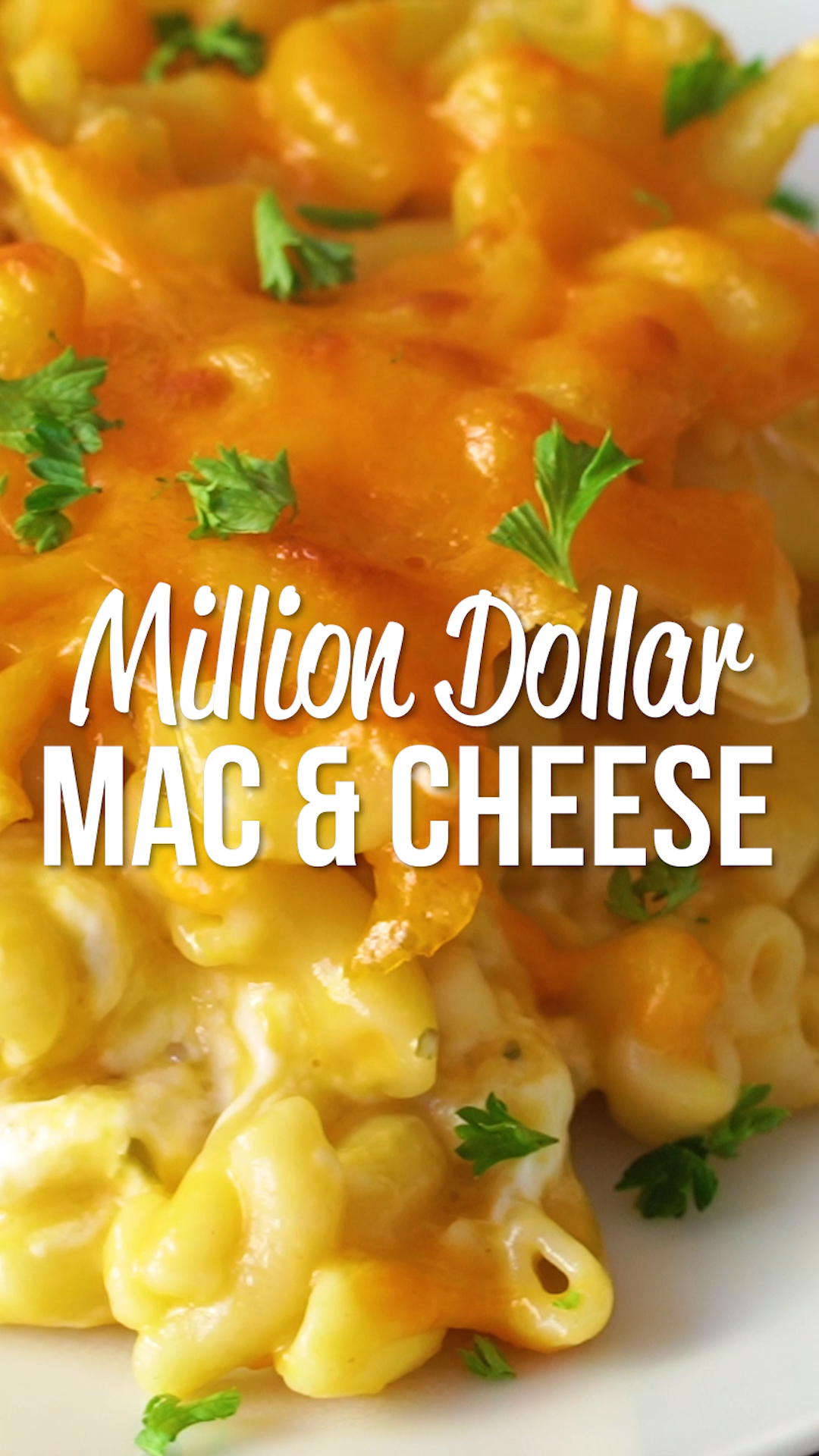 Million Dollar Mac & Cheese - the creamiest and dreamiest mac and cheese EVERRRR!!! This is the mos