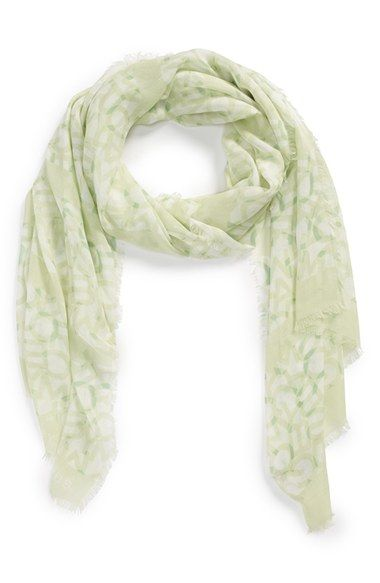 Women's MARC BY MARC JACOBS Abstract Logo Scarf - Green