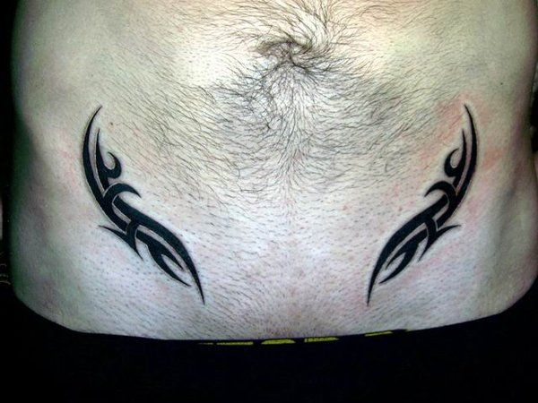 stomach tattoos for 30 amazing tribal designs for