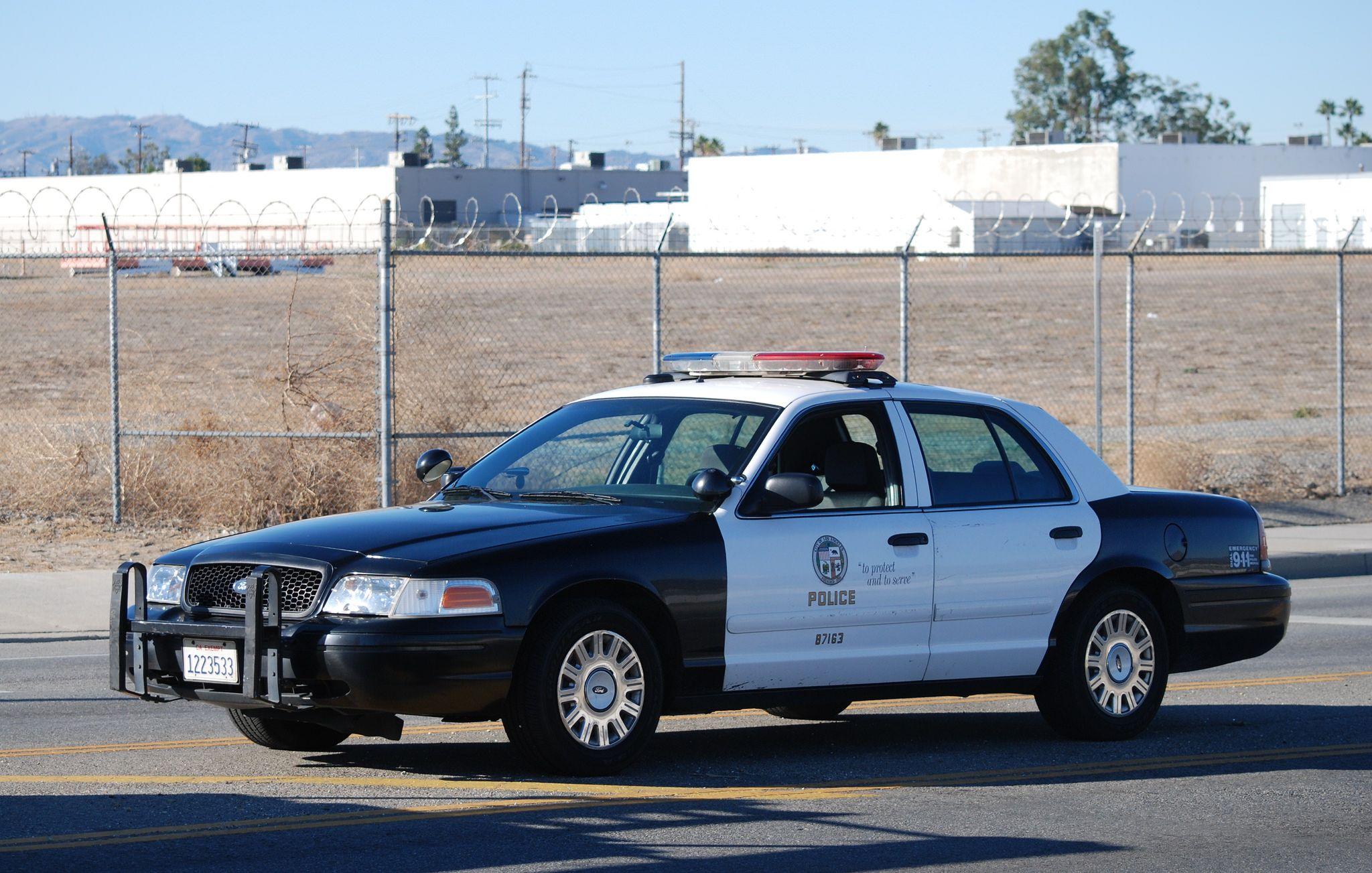 Los Angeles Police Department Ford Crown Victoria Police