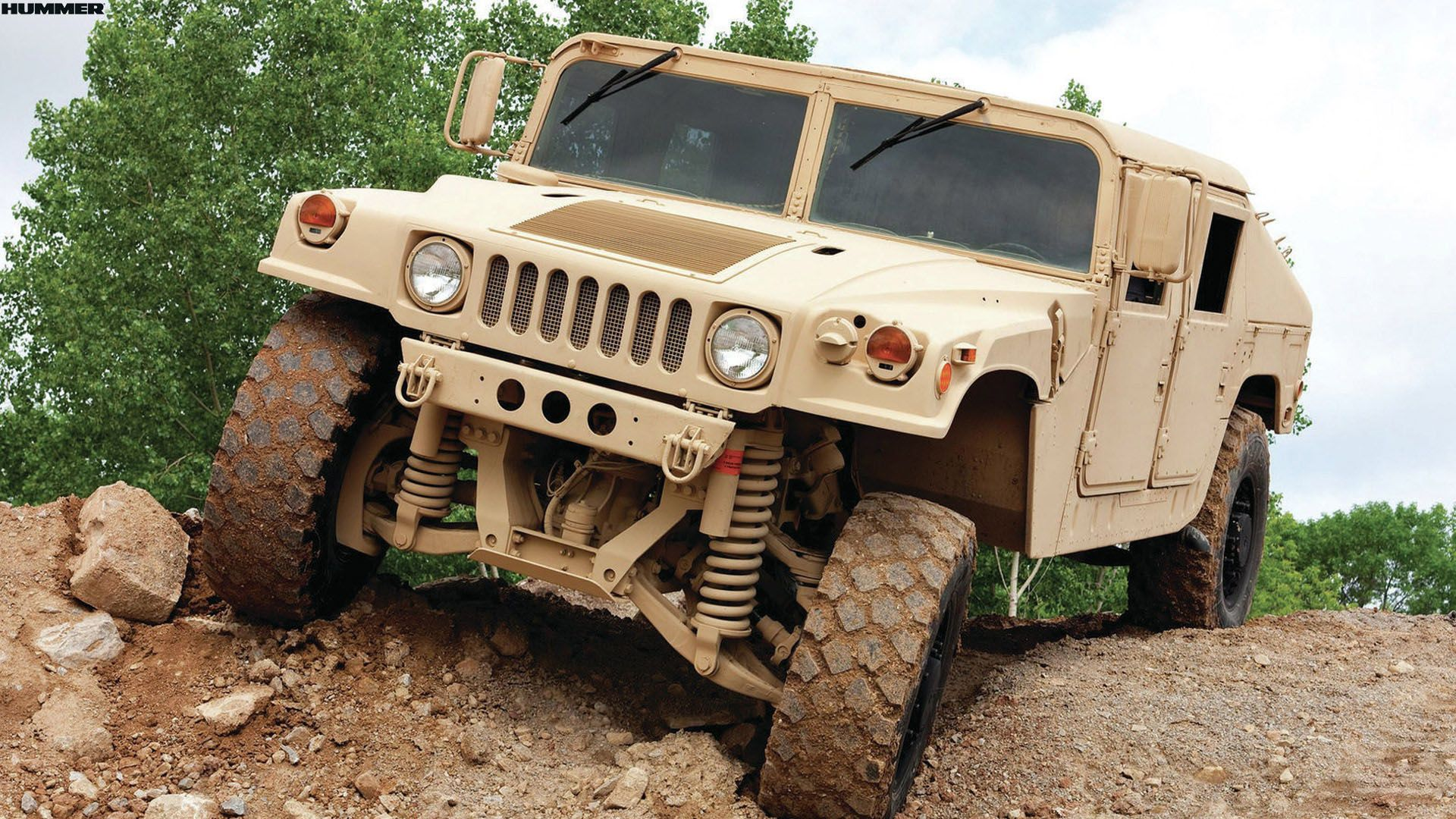 Government Surplus Cars: Gray Hummer H1 For Army