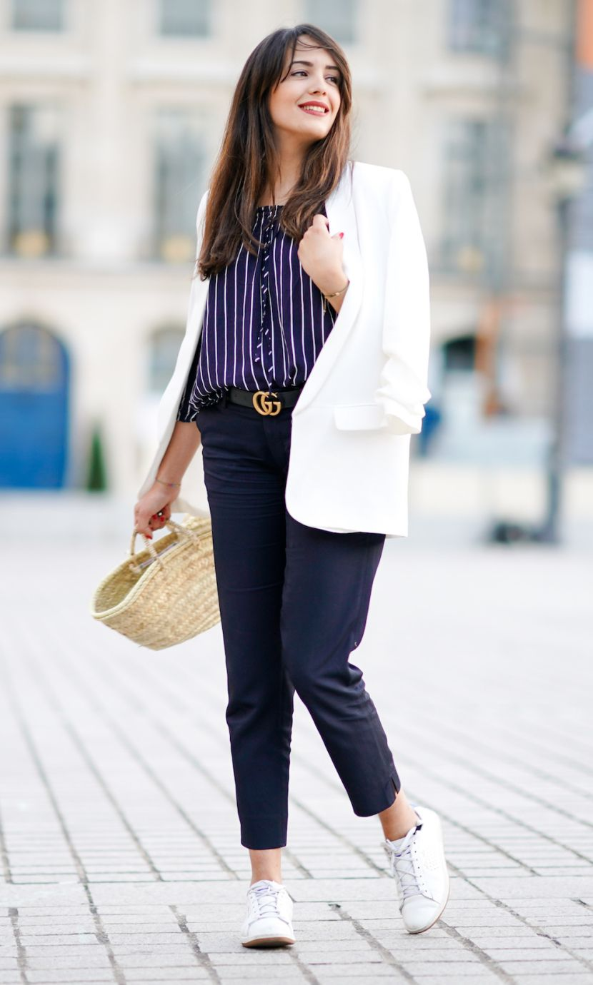 How to Wear Sneakers to Work: 20 Ways to Pull ItOff