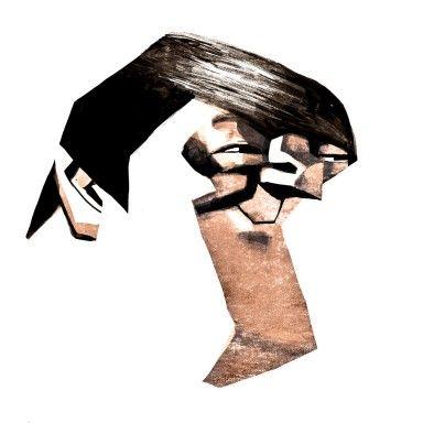 Stephen Fry - Victor Melamed  http://www.artofbrands.com/wo-en/celebrity-art-stephen-fry  #stephenfry #topgear #celebrity