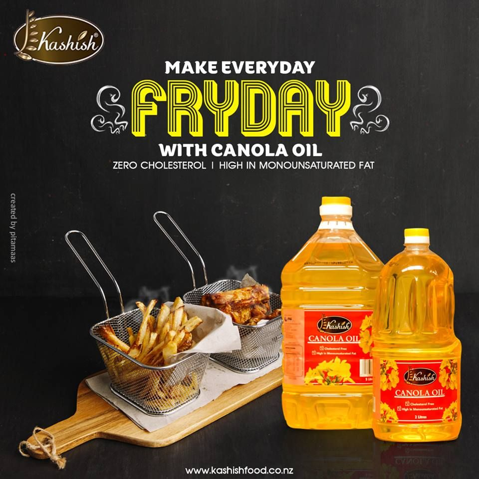 Healthy yet delicious! Kashish Canola Oil, High in