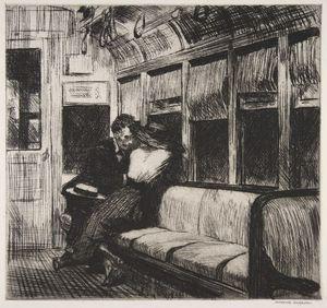 Night on the Train, 1918