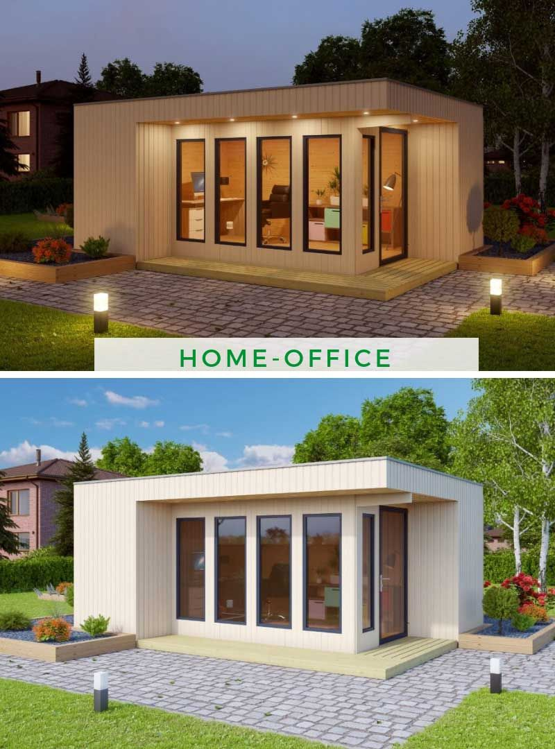 HomeOffice Nr.2 in 2020 (mit Bildern) Moderner pavillon