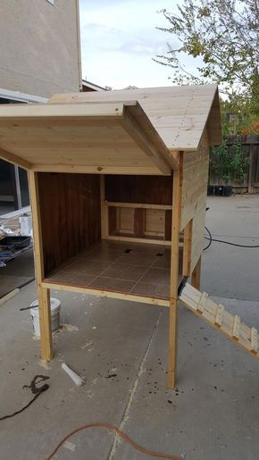 4x4 Chicken Coop Plans with Chicken Run Instant Download Construct101
