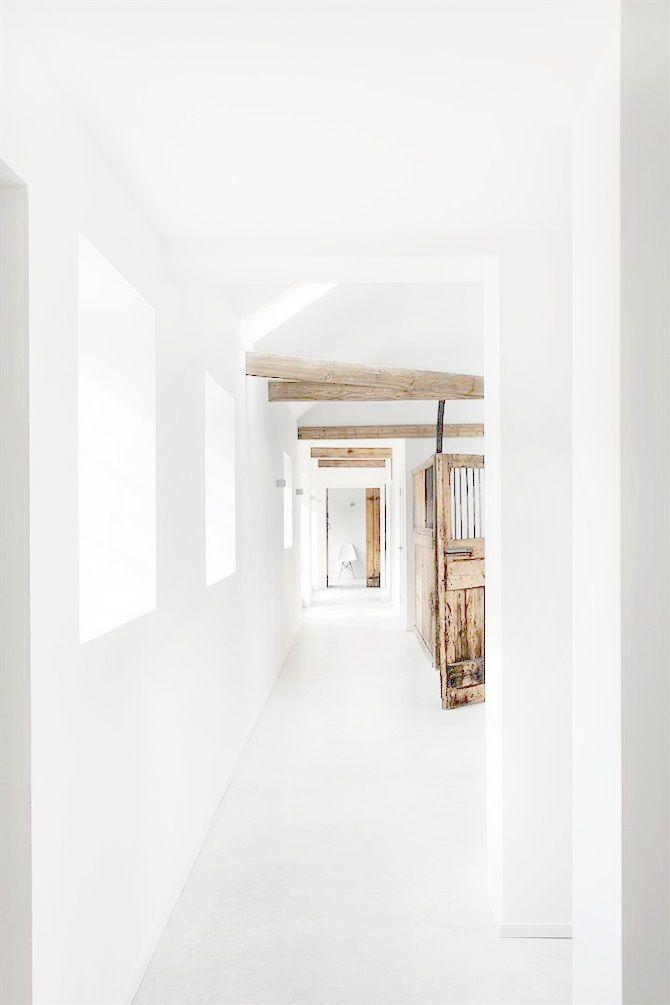 Holz und weiß