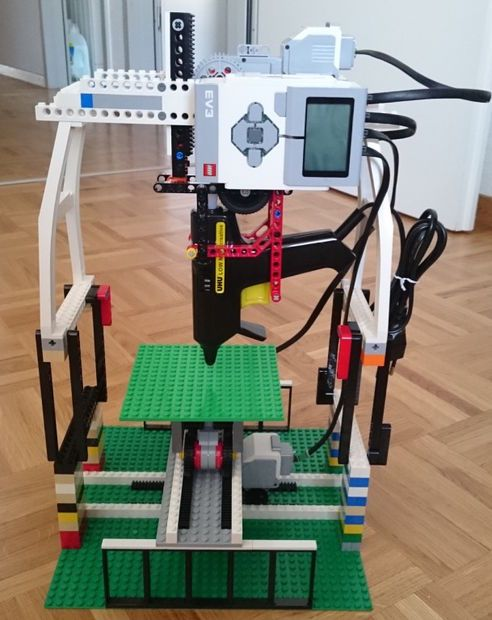 lego 3d printer 3 0 3 d printers. Black Bedroom Furniture Sets. Home Design Ideas
