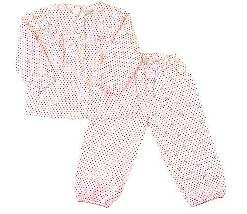 ChummyChummy 100/% Cotton Collar Pajama Set Long Sleeve Pjs Sets for Little Boys Kids