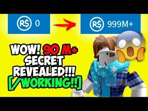 Roblox Reveals Secret Promocode That Gives You Free Robloxs - free robux money how to get 90 m robux