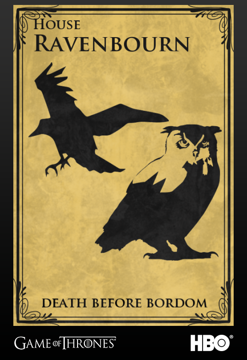 I just created my family arms for HBOs Game of Thrones. Join the Realm and create yours now: www.jointherealm.com