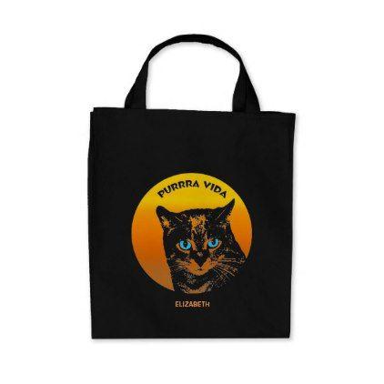 VIDA Foldaway Tote - Meow by VIDA SGX90Ccb