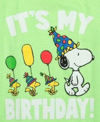 Snoopy Says Happy Birthday Alles Gute Zum Geburtstag Bilder