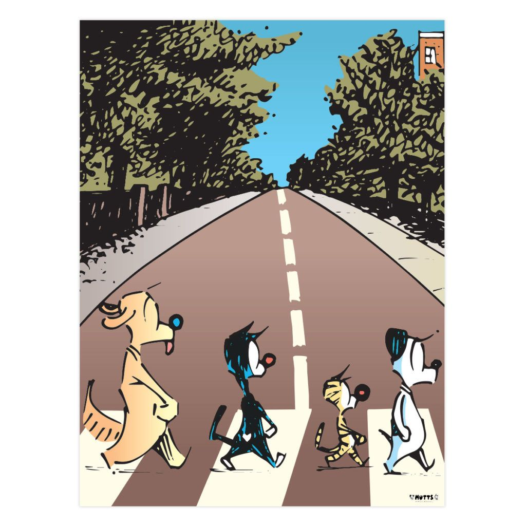 The Beagles Tabby Road Poster Cute Pictures Mutts Comics Beagle