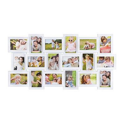 White 18 Opening Collage Frame