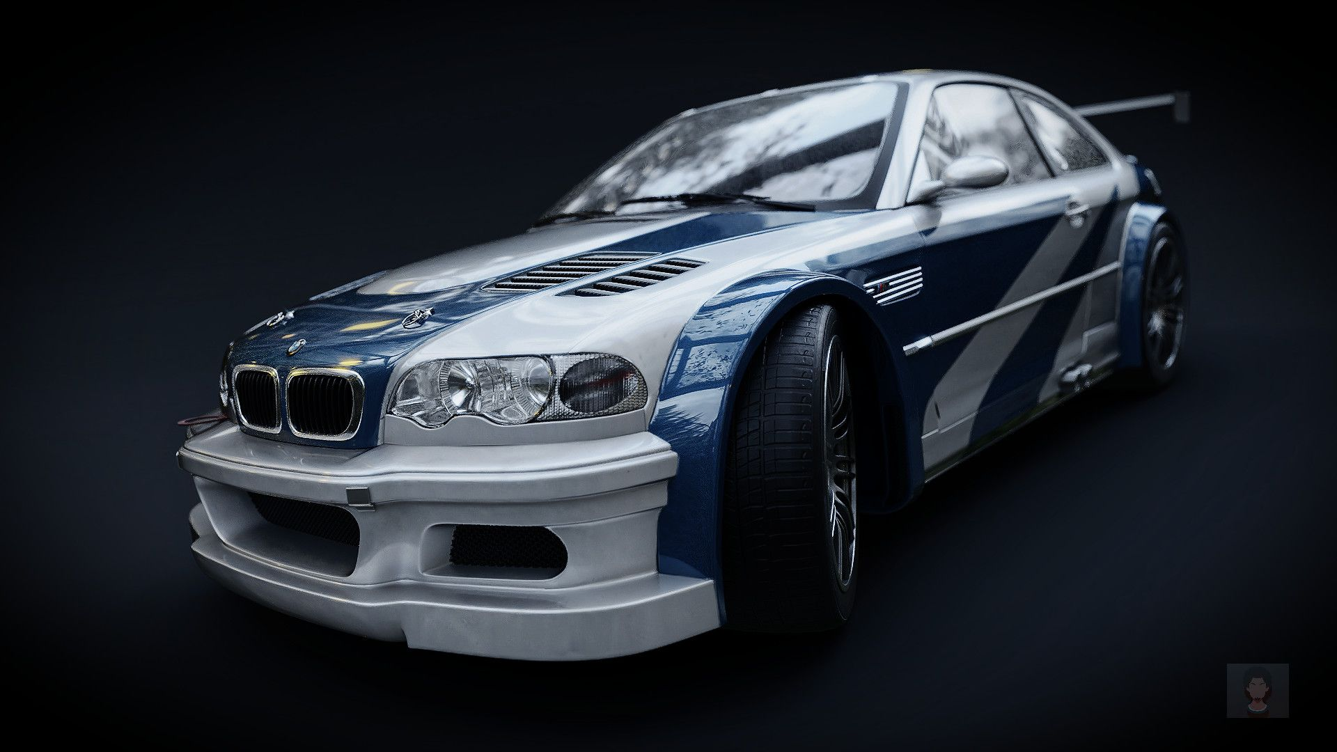 Artstation Bmw E46 M3 Gtr Need For Speed Most Wanted 2005
