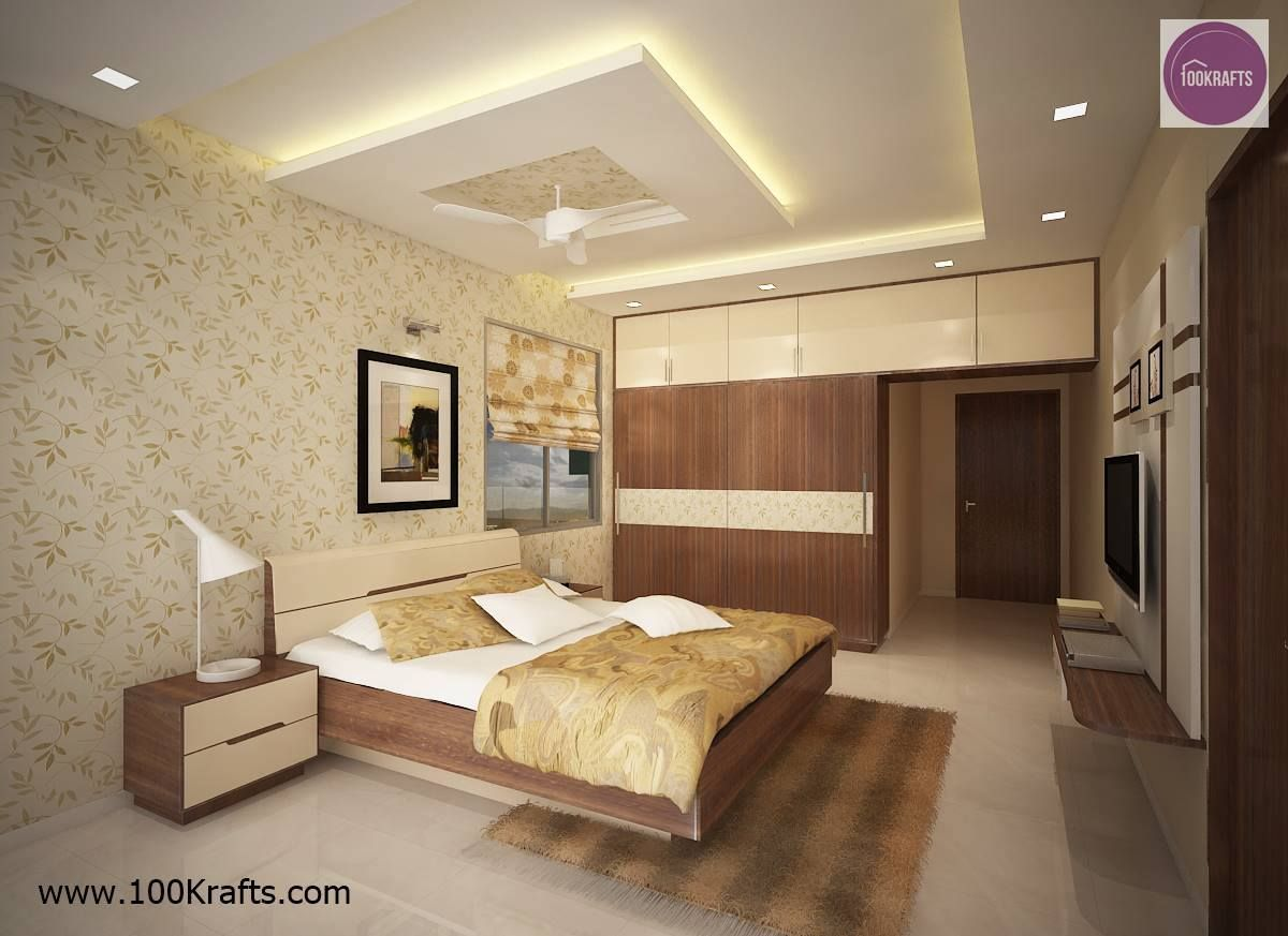 Master Bedroom With Sliding Wardrobes
