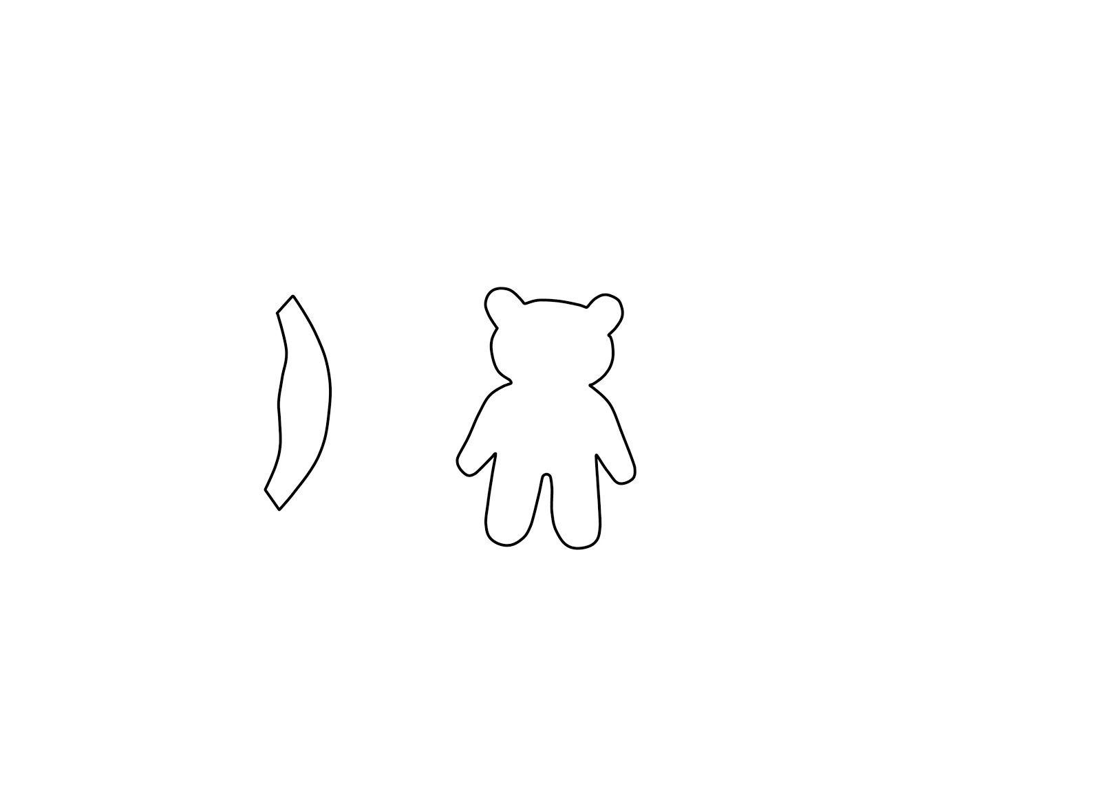 Pudsey Bear Template | Sewing | Pinterest | Bear template, Template ...