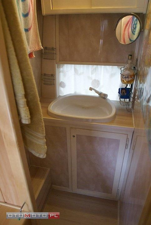 Transit Van Conversion Bathroom