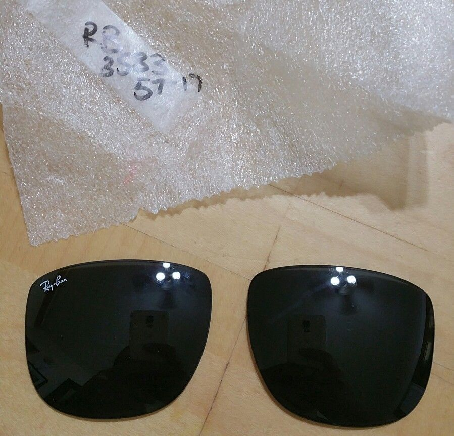 231c371bfc AUTHENTIC RAYBAN RB 3533 SUNGLASS REPLACEMENT GRAY LENSES NEW! ray ban grey   fashion  clothing  shoes  accessories  unisexclothingshoesaccs ...