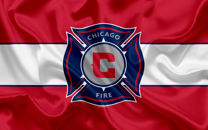Download Wallpapers Chicago Fire Fc American Football Club Mls