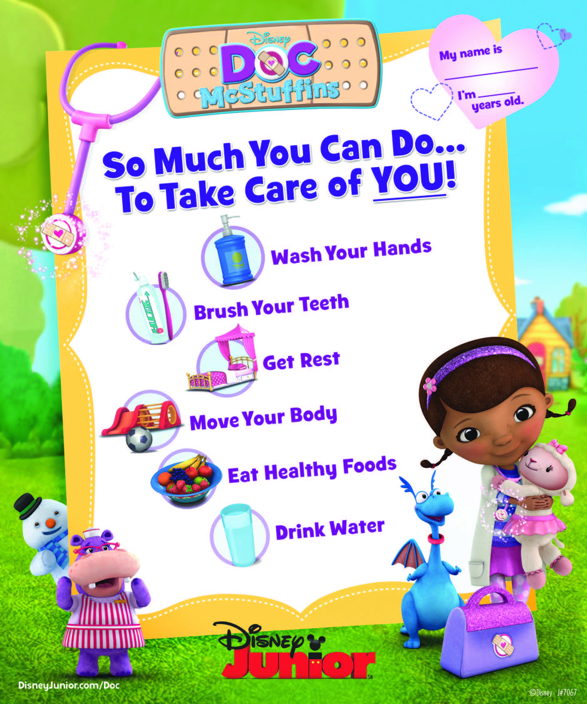 Teach Your Little One About Staying Healthy With This List From Doc