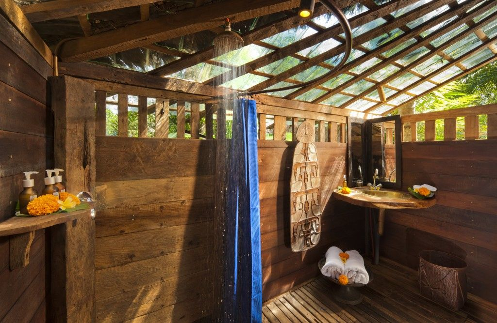 Glass bottomed vacation homes bambu indah contains luxury cabins in the indonesian hills gallery