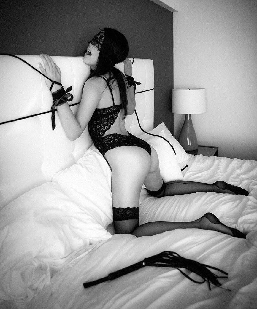 Tied up girl sexy