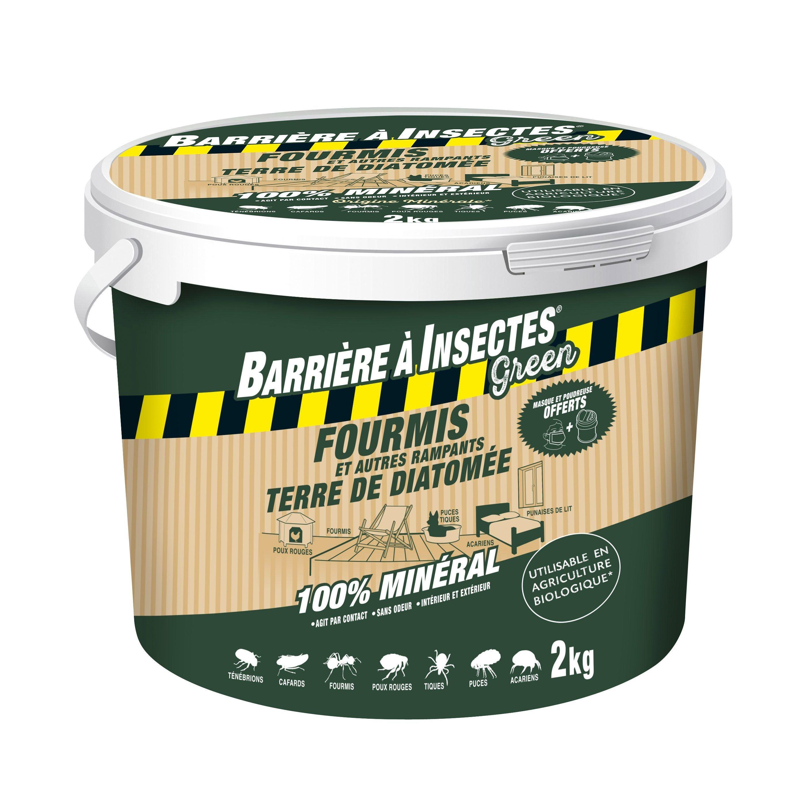 Poudre Anti Fourmis Barriere A Insectes 2kg Anti Fourmis Terre De Diatomee Et Fourmis