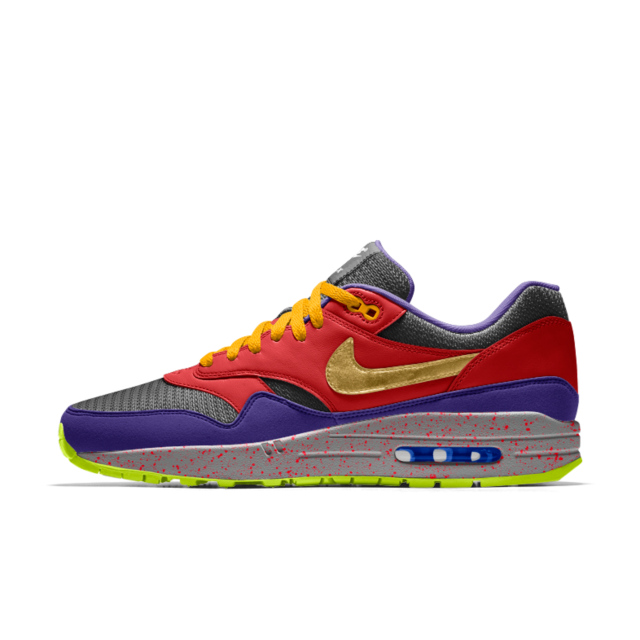 online store e9e3f 3c67f Nike Air Max 1 Essential iD Men s Shoe Yeezy, Nike Air Max, Roodgoud,
