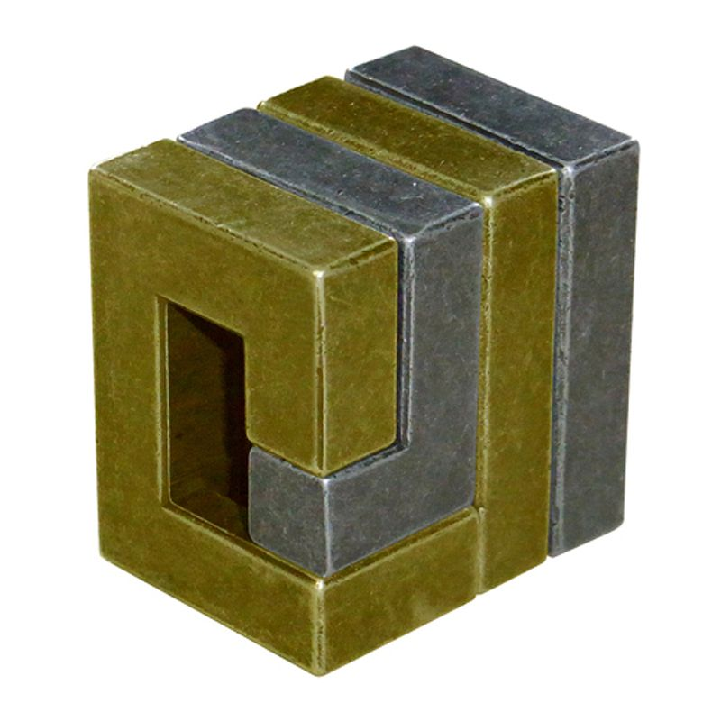 Bepuzzled Hanayama Level 3 Cast Puzzle - Coil   Metal ...