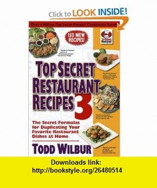 Top Secret Recipes Unlocked Pdf