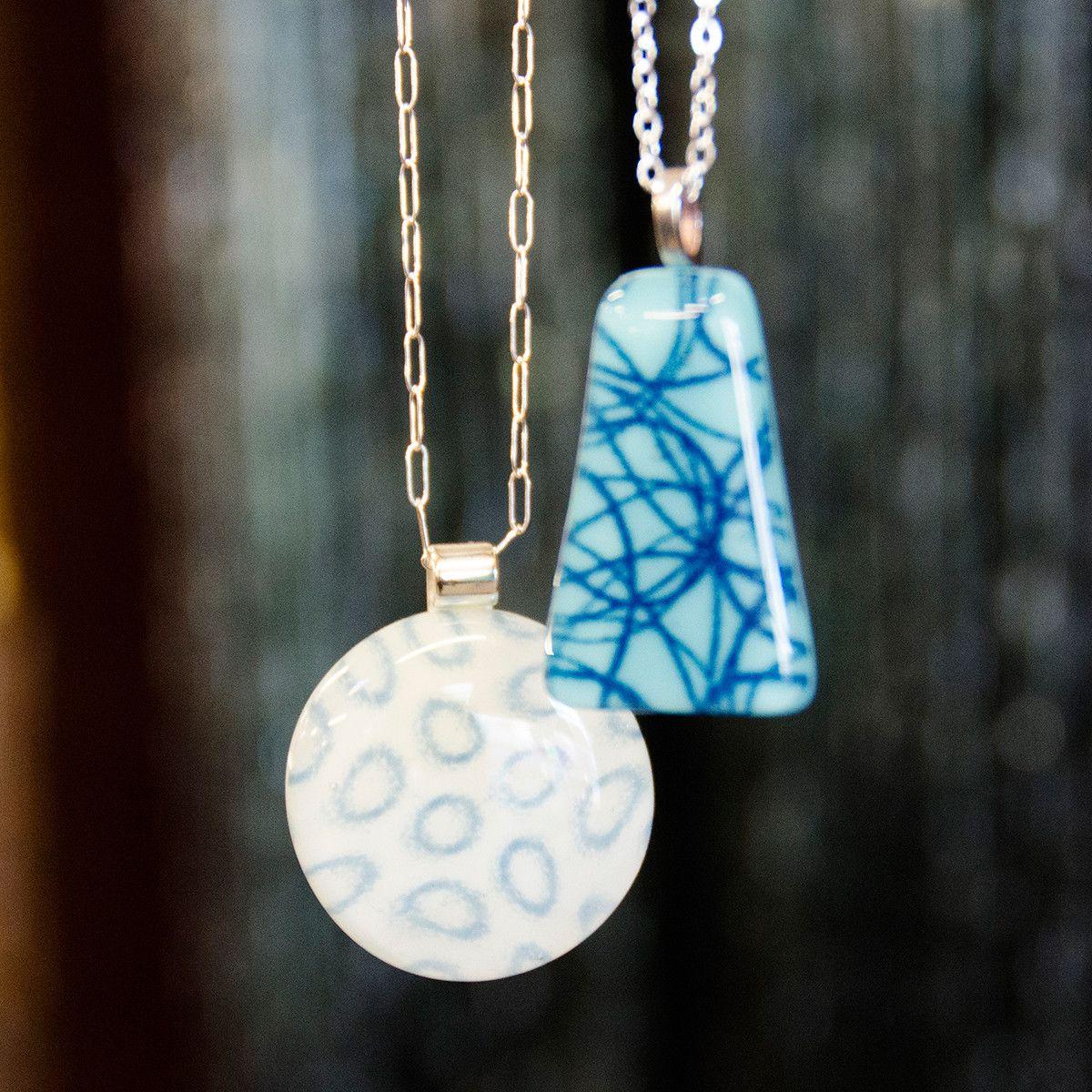 Perfect Pendants   Portland Glass Fusing Classes