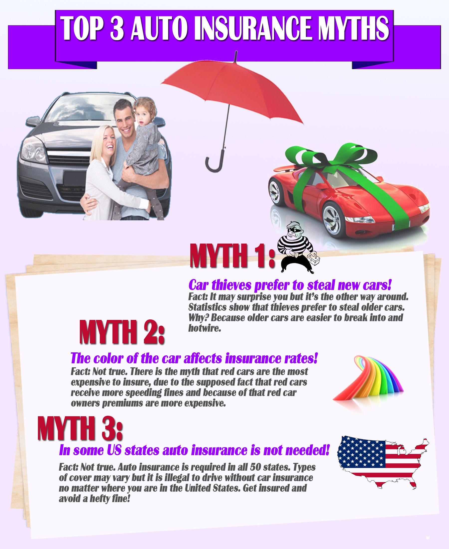 Vehicleinsuranceft Lauderdale Auto Insurance Myths Car Insurance