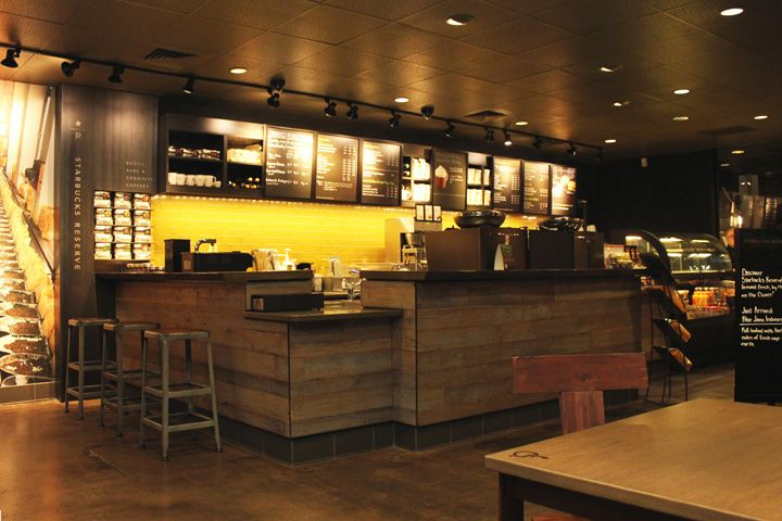 I Always Appreciated The Starbucks Designs Starbucks Store Portland Oregon Interior Design