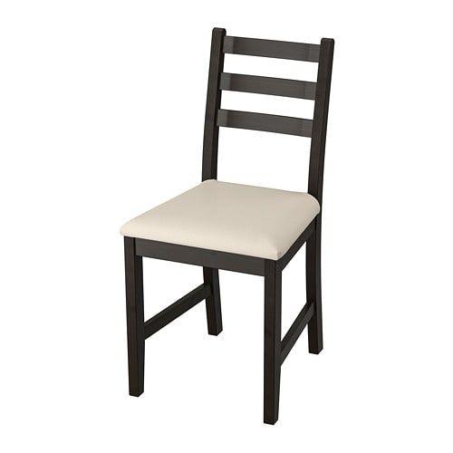 Lerhamn Chair Black Brown Vittaryd Beige Ikea Chair Ikea