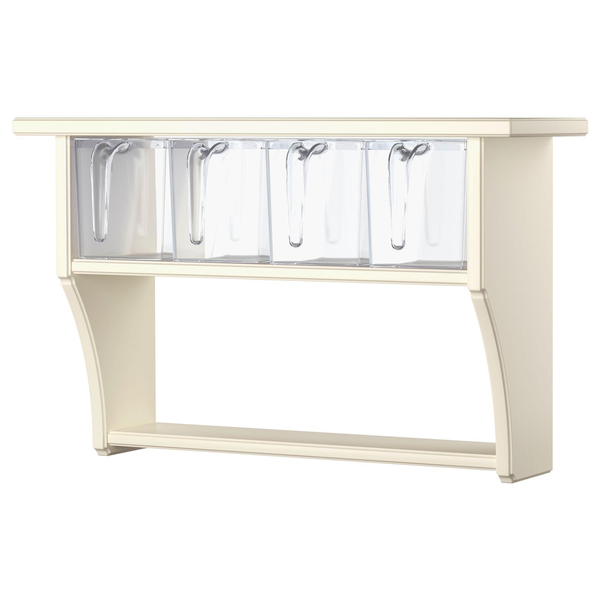 Favori STENSTORP Étagère murale avec tiroirs, blanc | Cassetti, Ikea e  RW81