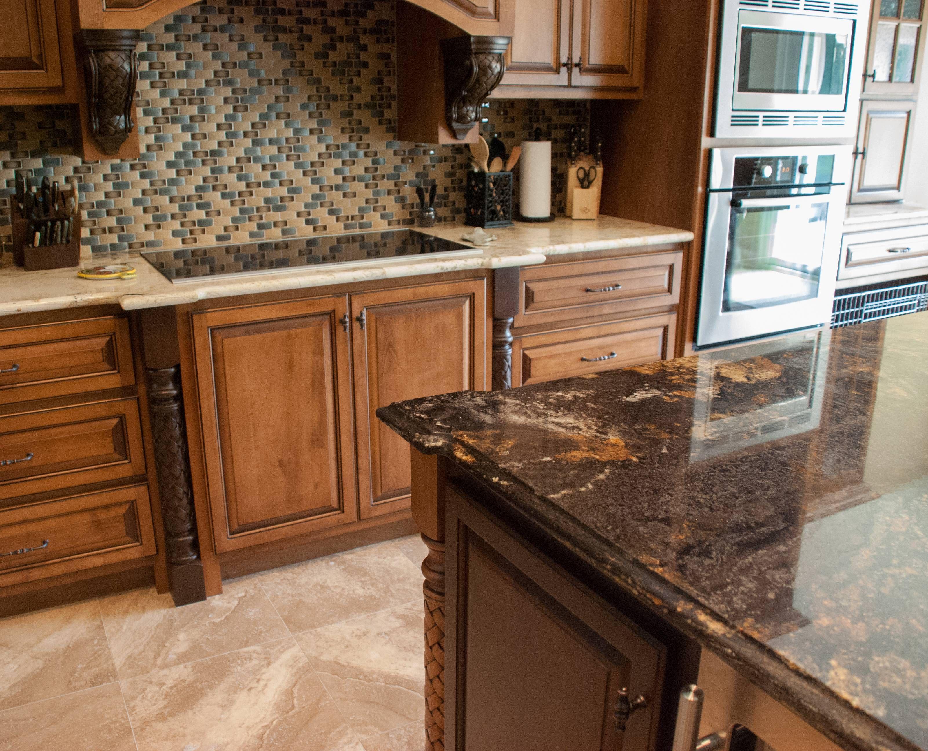 Neue Design Kuche Kabinette Wie Zu Legen U Bahn Fliesen Backsplash Corian O Granite Countertops Kitchen Kitchen Countertops Kitchen Countertops Granite Colors
