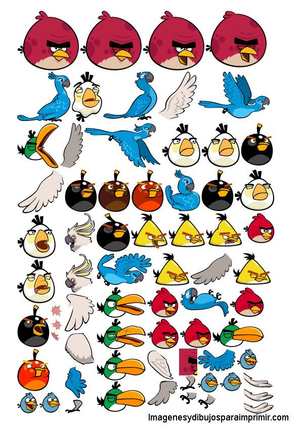 Imagenes Y Dibujos Para Imprimir Angry Birds Angry Birds Printables Space Coloring Pages