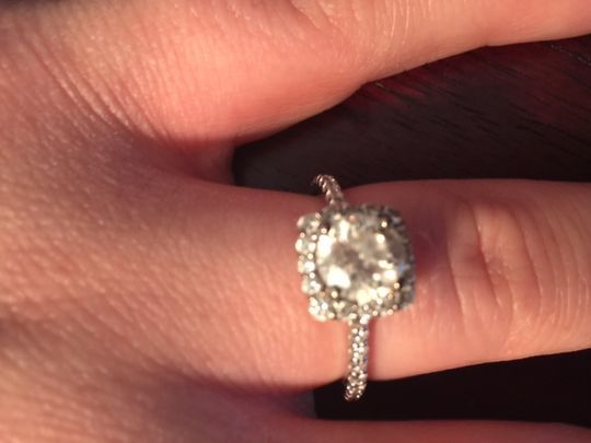 Iowa man uses Door County Advocate to propose (Jillian Faaborg\u0027s engagement ring - Advocate submitted & Iowa man uses Door County Advocate to propose (Jillian Faaborg\u0027s ...